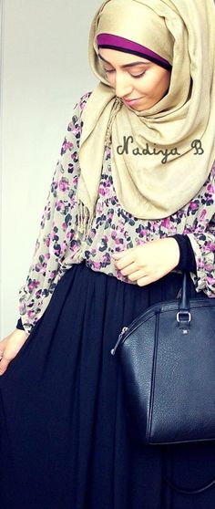 Nadiya B #hijab#muslimah fashion