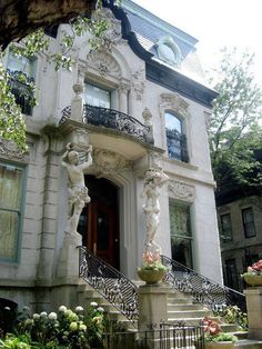 Francis J. Dewes Mansion ~ Built in 1896, Chicago, Illinois