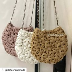 Items similar to Crossbody summer crochet bag/ beach boho chic / shoulder bag / everyday medium bag on Etsy Crochet Clutch, Crochet Handbags, Crochet Purses, Crochet Bags, Crochet Triangle, Crochet Circles, Lace Knitting, Knitting Patterns, Crochet Patterns