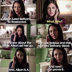 """S5 Ep12 """"Taking This One To the Grave"""" - Mona and Aria"""