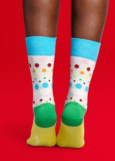 Disco Dot Sock