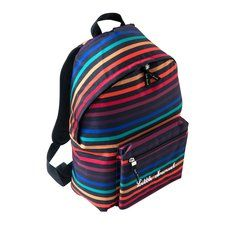 Sac à dos rayé Little Marcel Little Marcel, Life Is Strange, Spin, Backpacks, Projects, Bags, School Accessories, Daughter, Kid