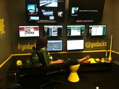 Social Media Command Center of University of Oregon Ducks AKA QuackCave Oregon State University, Galaxy S3 Cases, Community Manager, Oregon Ducks, Growing Up, Innovation, Management, War, Marketing