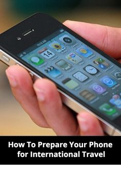 How To Prepare Your Phone for International Travel   #travel #phone #tech #technology #tips #hacks #international #abroad #studyabroad