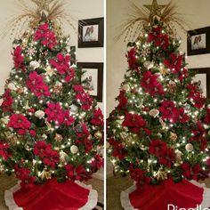 Christmas Tree by Jacqueline Craig #PapaNoelyaviene