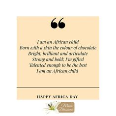 to all the mothers. I Am An African, Africa Day, African Children, My Fault, Happy Mothers Day, Charity, Love Her, Appreciation, Thats Not My