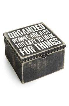 PRIMITIVES BY KATHY 'Organized People' Box available at #Nordstrom