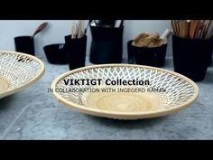Få et indblik i designeren, Ingegerd Råmans, process og tanker bag kollektionen VIKTIGT. Kollektionen fås nu i IKEA.