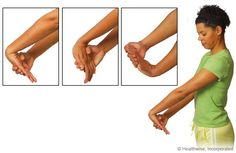 computer and desk stretches print out | stretches to ease wrist and arm aches and fatigue