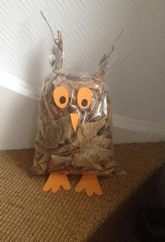 Pojedynczy Post - Fall Crafts For Toddlers Fall Crafts For Kids, Diy For Kids, Kids Crafts, Craft Projects, Diy And Crafts, Projects To Try, Arts And Crafts, Owl Crafts, Animal Crafts