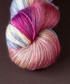 Tricksy Knitter - Silk & Cashmere Knitting Kit - Pink Ponies