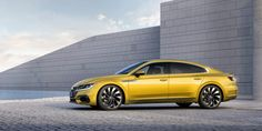 This is the 2018 Volkswagen Arteon, the company's replacement to the old Passat CC. It's really quite handsome and it's easy to see why: it's just a knockoff of the Audi Vw Cc, Volkswagen Phaeton, Vw Arteon, Audi A8, Cruise Control, Ducati, Motor A Gasolina, Mercedes Benz, Diesel