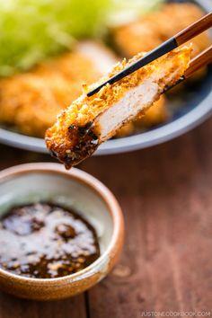 Baked Tonkatsu ???????? | Easy Japanese Recipes at JustOneCookbook.com