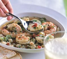 Find the recipe for Shrimp and Scallop Posole and other hominy/cornmeal/masa recipes at Epicurious.com
