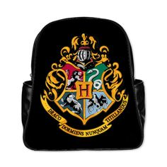 Hogwarts Harry Potter Custom Design Shoulders Backpack Students School Bag