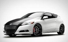 Car Photography of Customized Black & White Honda CR-Z for Performance Auto & Sound (PASMAG) [BP imaging - Bochsler Photo Imaging]