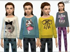 The Sims Resource: Child Set 02 by OranosTR • Sims 4 Downloads