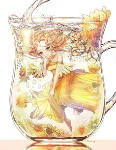 Read Anime girl bottle from the story Ảnh Anime đẹp ( 1 ) by Kiritoboy (Kirigaya Yuki) with reads. Anime Girl Cute, Beautiful Anime Girl, Kawaii Anime Girl, Anime Art Girl, Anime Girls, Manga Girl, Manga Anime, Lolita Anime, Dibujos Anime Chibi