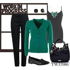 """Work"" by tigerwoman37086 on Polyvore"