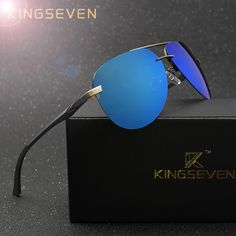 1b5886a61e KINGSEVEN Aluminum Magnesium Polarized Sunglasses Men Driver Mirror Sun  glasses Male Fishing Female Eyewear For Men olta tarpon     AliExpress  Affiliate s ...