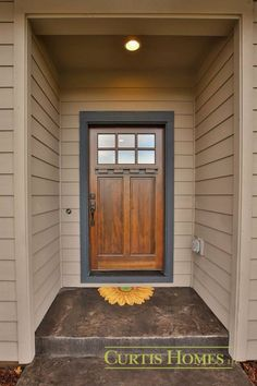Front door color.