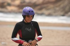 Asia Litwin always rides wearing Maelstorm helmet so as to secure 100% sure safety for herself.
