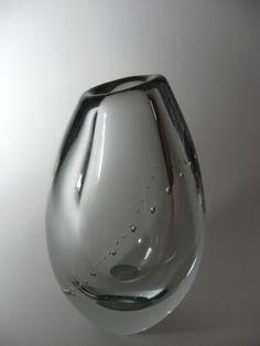 vase by Gunnel Nyman, Helminauha, Finland Glass Transition, Scandinavian Art, Vintage Vases, Art File, Glass Ceramic, Modern Glass, Nordic Design, Glass Design, Art And Architecture