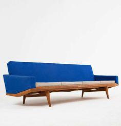 Illum Wikkelsø, Teak 'Australia' Sofa, 1950s