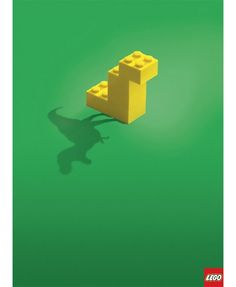 Today we've been doing some archive browsing and ran across these print ads for Lego from 5 years ago. Lego is still using this playful aspect in their ads today. When playing with simplicity on your imagination the creative possibilities are endles Creative Advertising, Print Advertising, Ads Creative, Lego Creative, Children Advertising, Funny Advertising, Internet Advertising, Advertising Agency, Web Banner Design
