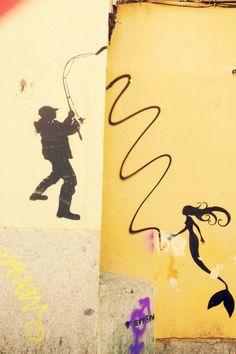 Street Art. Madrid.
