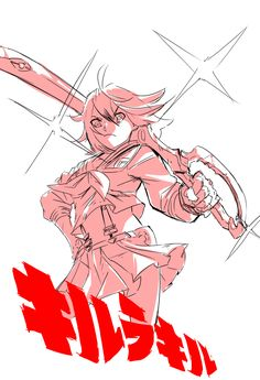 Watching Kill la Kill again. I really have an appreciation and respect for the Studio Trigger crew who made this great show. Anime Chibi, Manga Anime, Kill A Kill, Storyboard Artist, Darling In The Franxx, Cartoon Art Styles, Girls Characters, Otaku Anime, Drawing Reference