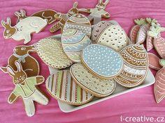 Velikonoční perníčky Easter Recipes, Origami, Sugar, Baking, Desserts, Food, Tailgate Desserts, Deserts, Bakken