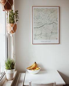 Küchen Inspiration I Frankfurt Bild und Blumenampeln
