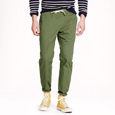 Sideline pant in garment-dyed cotton
