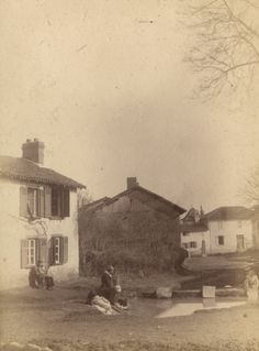 Le village de Sainte-Claire, vers 1870-1875, jean-Baptiste Audiguet - Bfm Limoges