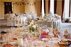 1930's INSPIRED WEDDING RECEPTIONS | Vintage Styled Wedding: 1940s Inspired | Real Wedding