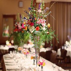 Colorful Floral Centerpiece