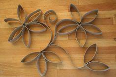 Kifli és levendula: Falikép papírgurigákból