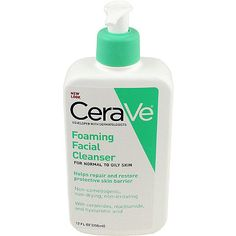 CeraVeFoaming Facial Cleanser