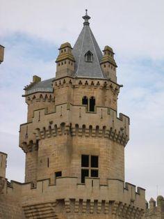 Castle Photo Archive, Castillo de Olite, Spain
