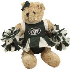 New York Jets Talking Cheerleader Plush Bear - http   sports-pets. 63b7fe50b