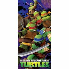 Disney Kids Sleeping Bag 30 X 54 TMNT Ninja Turtles >>> Check out this great product. Kids Sleeping Bags, Kids Bedding Sets, Turtle Beach, Pool Towels, Kids Store, Baby Design, Teenage Mutant Ninja Turtles, Sleepover, Tmnt