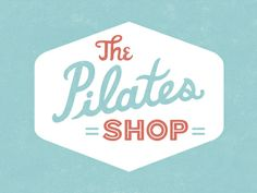 The Pilates Shop identity design