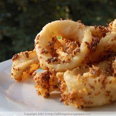 Thai Garlic Pepper Calamari