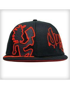 Insane Clown Posse Hatchetman Juggalo Flatbill Hat