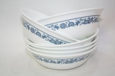 Corelle Old Town Blue Cereal Soup or Berry Dessert Set Blue Onion Your Choice