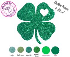 A personal favorite from my Etsy shop https://www.etsy.com/listing/497528384/diy-st-patricks-clover-shamrock-iron-on
