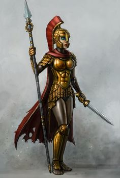 Victory by SirTiefling female soldier fighter warrior cyborg robot armor clothes clothing fashion player character npc | Create your own roleplaying game material w/ RPG Bard: www.rpgbard.com | Writing inspiration for Dungeons and Dragons DND D&D Pathfinder PFRPG Warhammer 40k Star Wars Shadowrun Call of Cthulhu Lord of the Rings LoTR + d20 fantasy science fiction scifi horror design | Not Trusty Sword art: click artwork for source