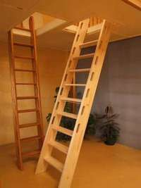 Clever alternative idea to get to the loft (if we have one.)