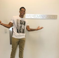 Snoop Doggs son Cordell Broadus signs up with Wilhelmina Modeling Agency (Photos)